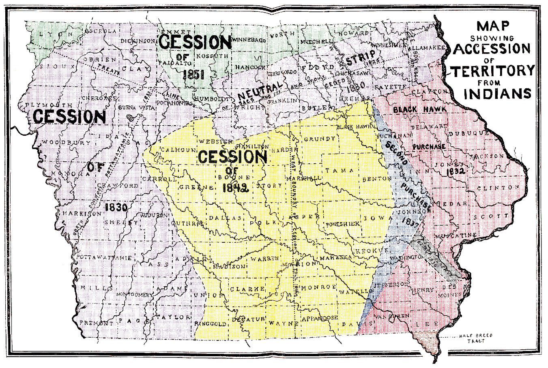 s in iowa map File Iowa 1905 Census Map Indian Terr Accessions Jpg Wikimedia s in iowa map