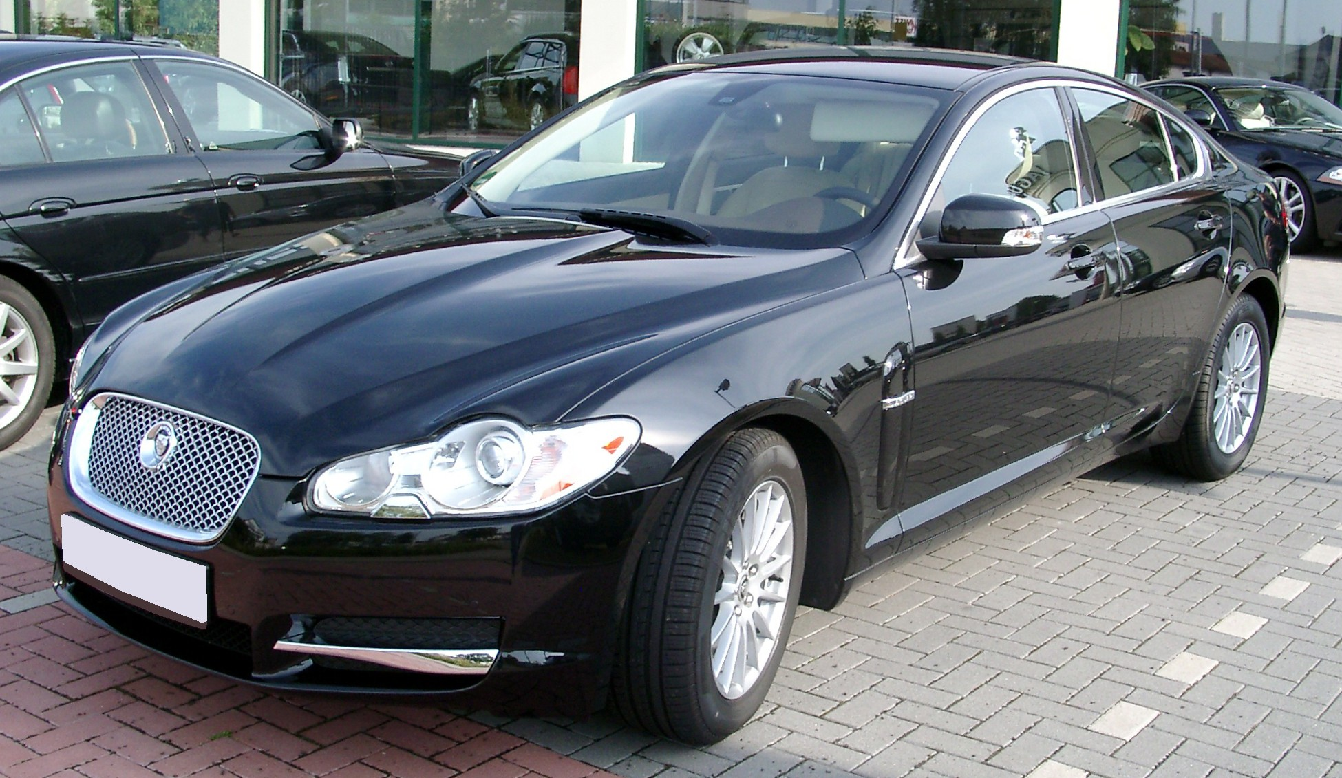 File Jaguar Xf Front 20080731 Jpg