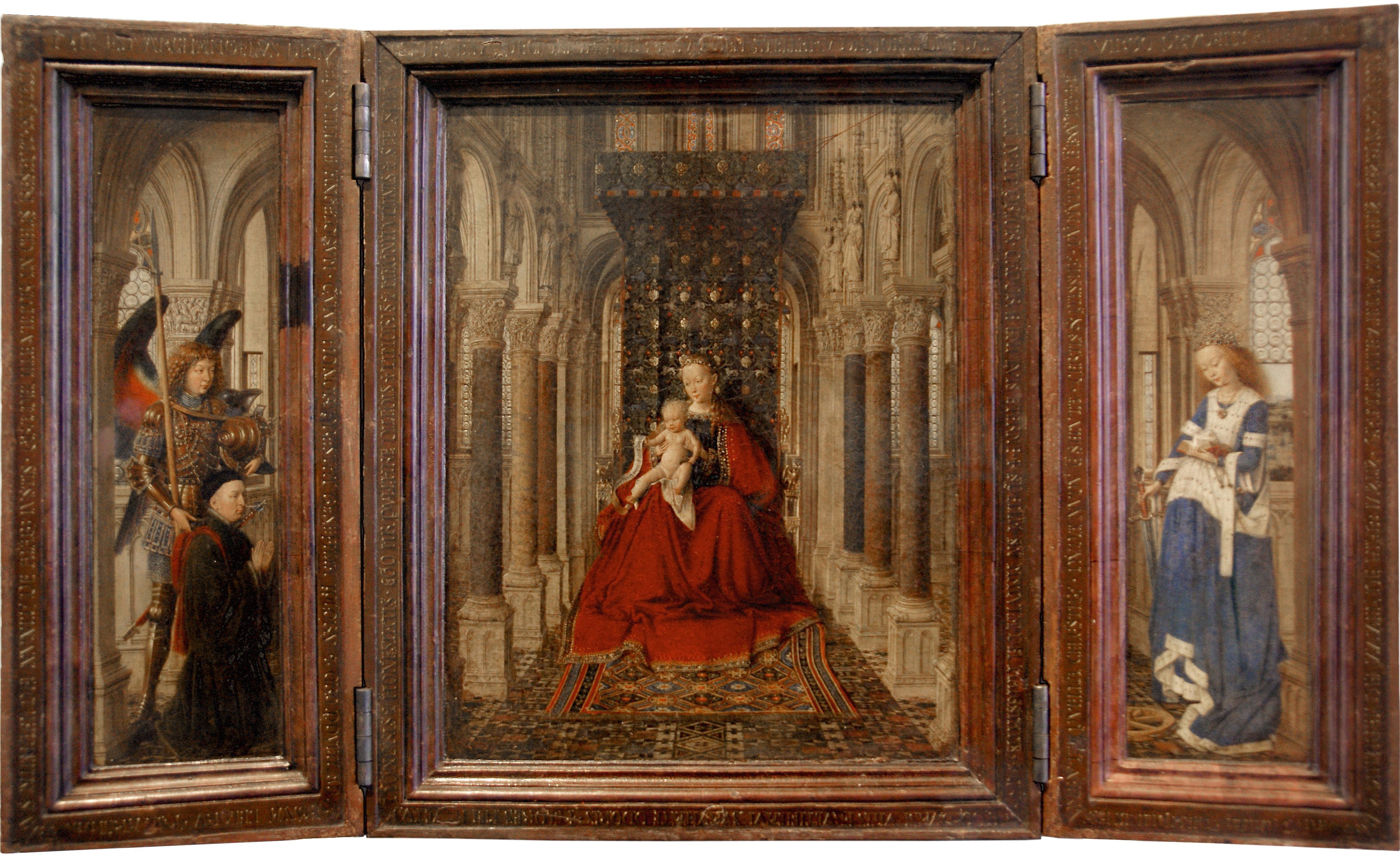 Verbazingwekkend File:Jan van Eyck - Gemäldegalerie Alte Meister - Dresdner PU-93