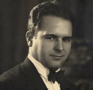 Fotografía de José María Aguilar en la década del '20.