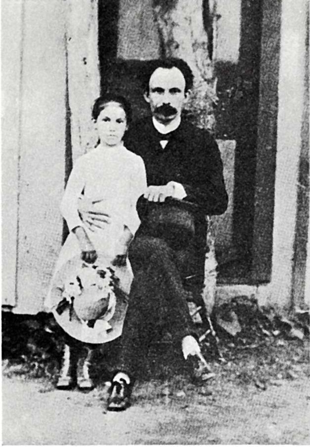 File José Martí Junto A María Mantilla Long Island Nueva York 1890 Jpg Wikimedia Commons