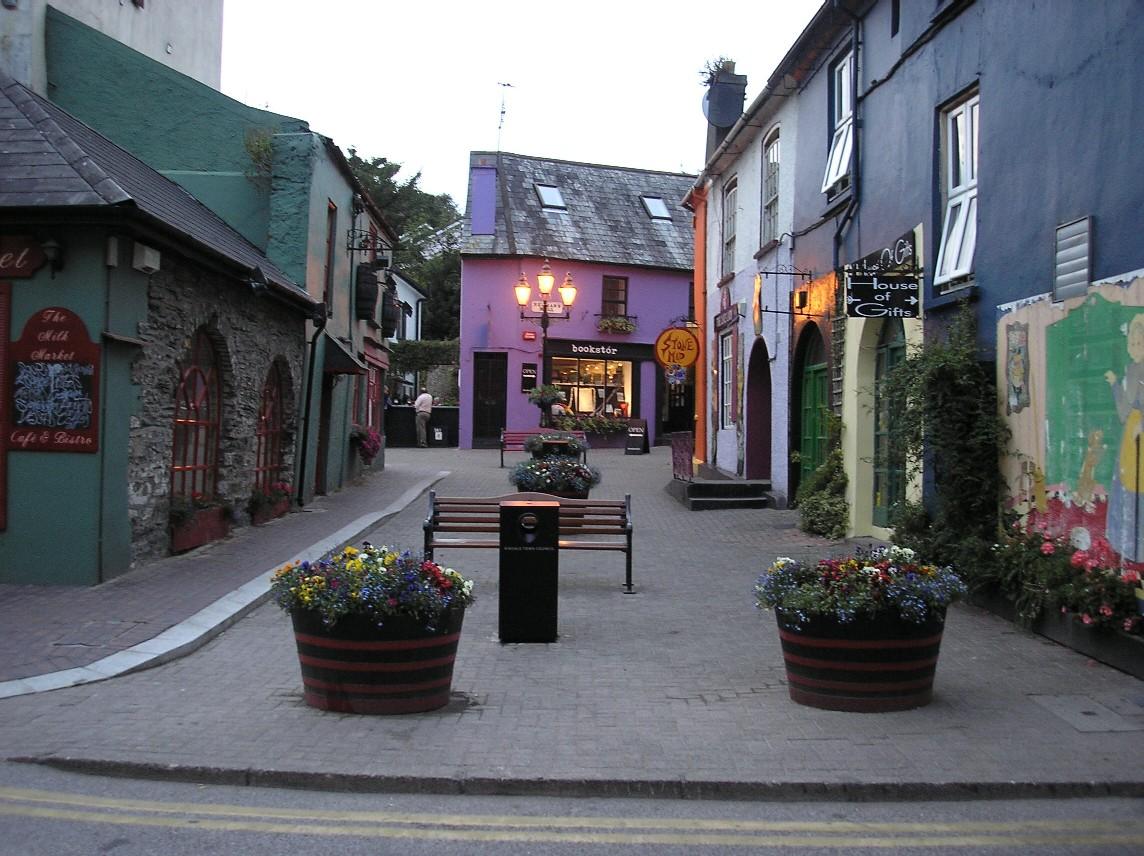 Cork Ireland  city pictures gallery : KINSALE street . Co CORK.IRELAND.