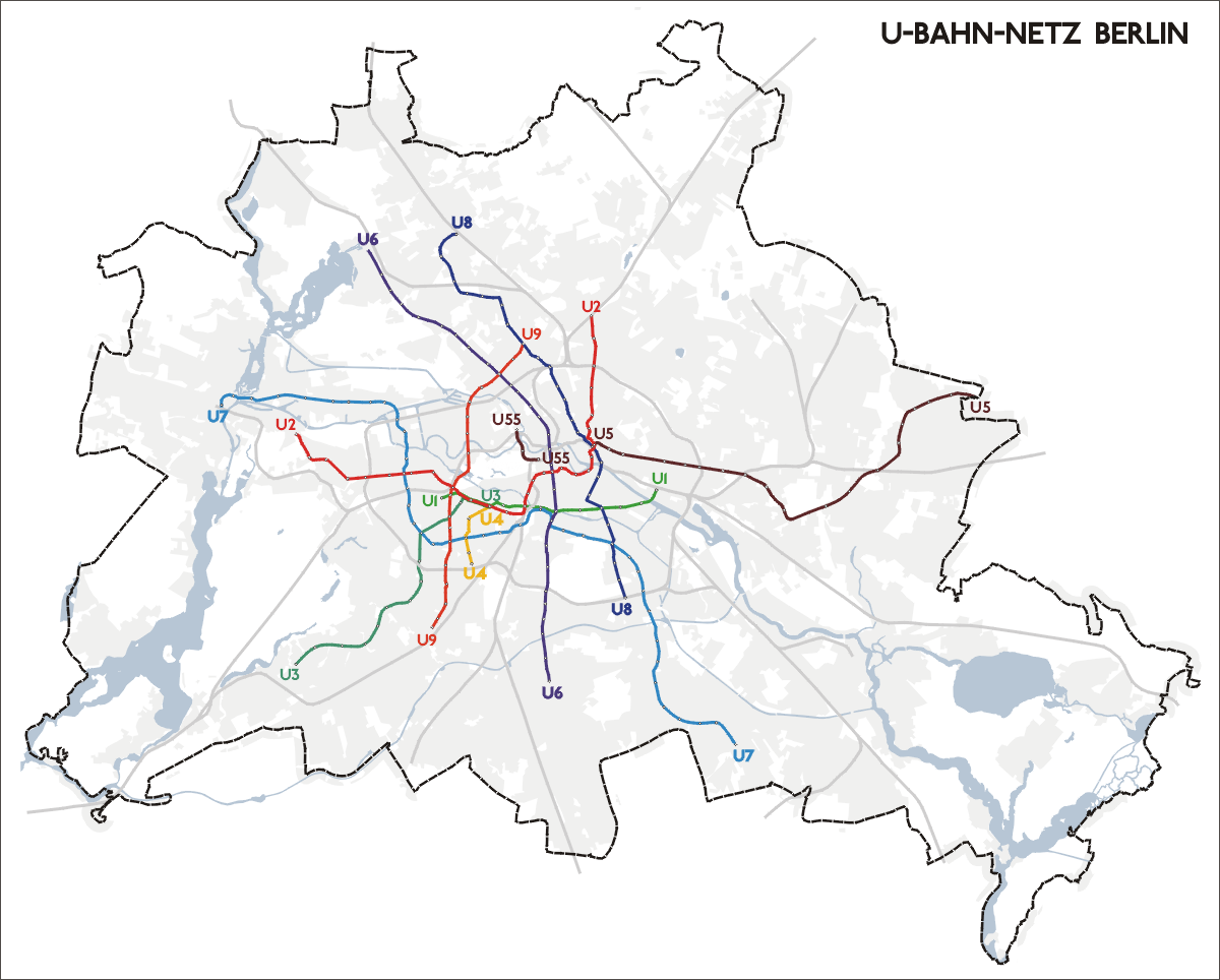Berlin Liniennetz Route Map Pdf Download