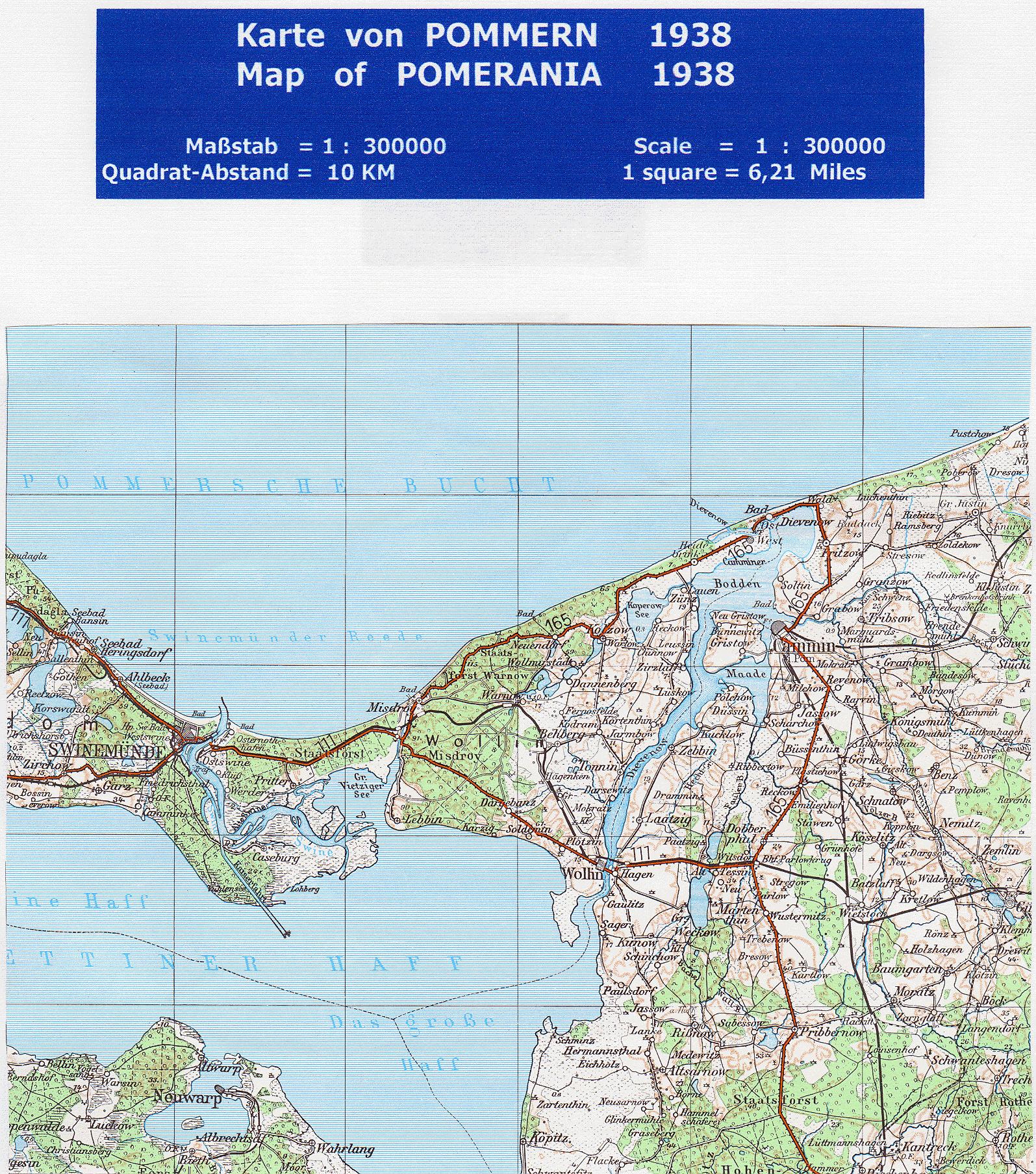 File Karte Von Pommern 1938 1 300 000 Jpg Wikimedia Commons