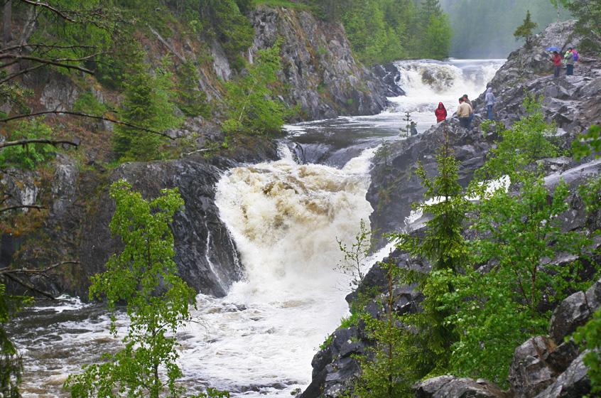 Картинки по запросу водопад кивач фото