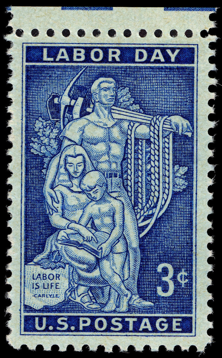 Labor Day stamp 1956
