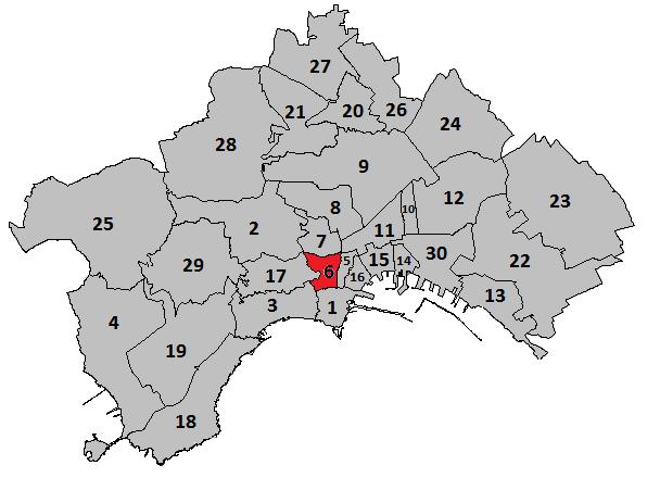 Quartieri Di Napoli Cartina.Montecalvario Wikipedia