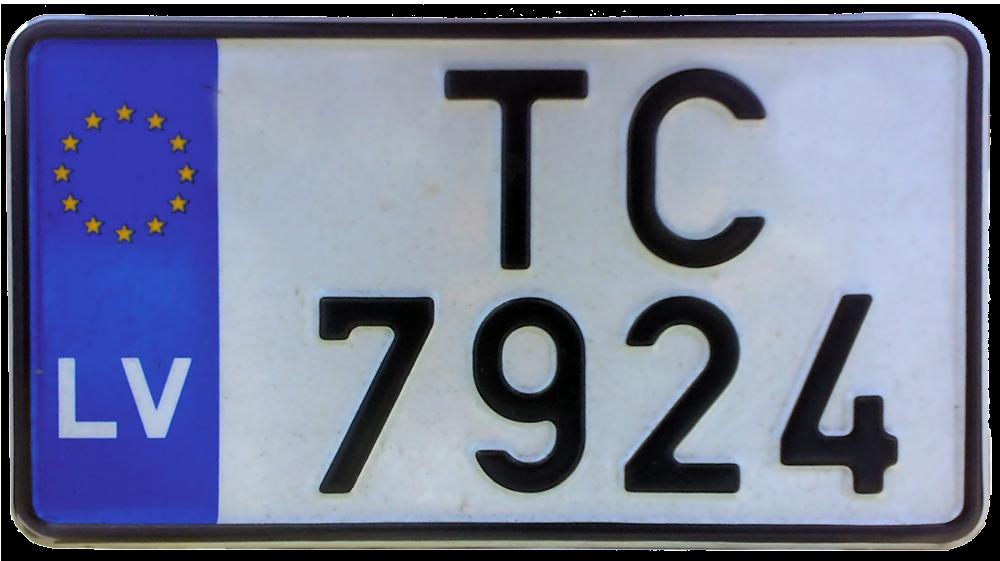 Bike number plate models