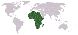 the African Union орналасуы