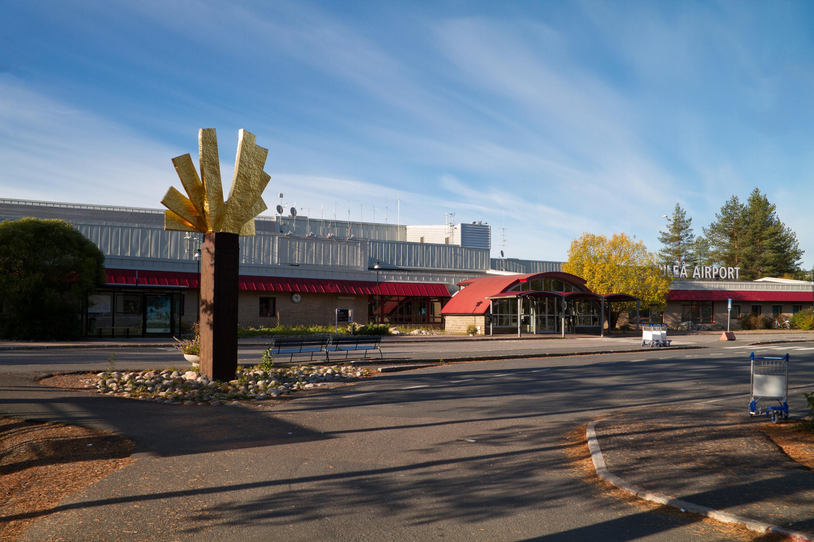 Sveriges största flygplatser - Luleå flygplats