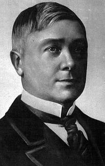 Depiction of Maurice Maeterlinck