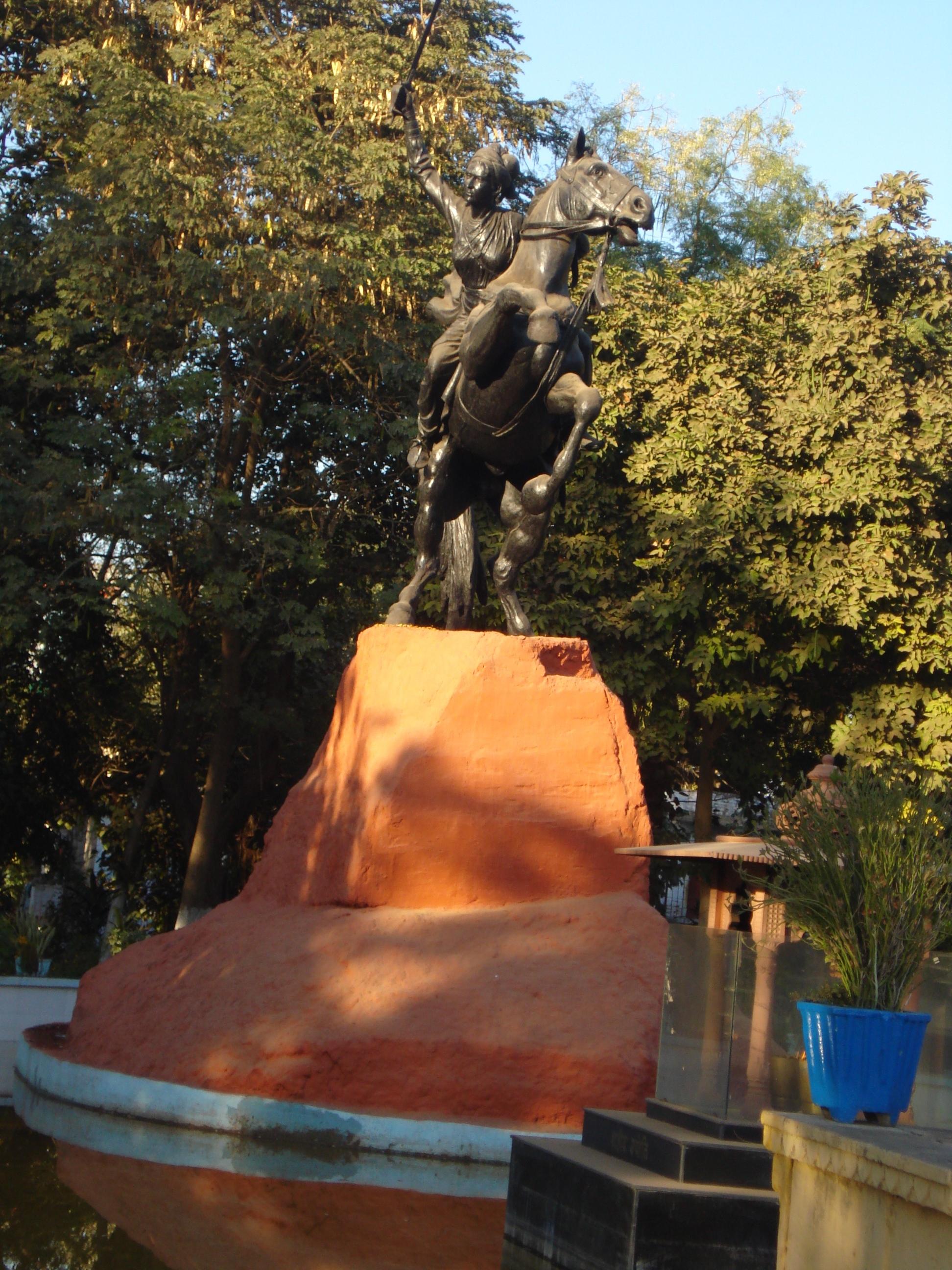file maharani laxmi bai tomb gwalior mp india panoramio jpg
