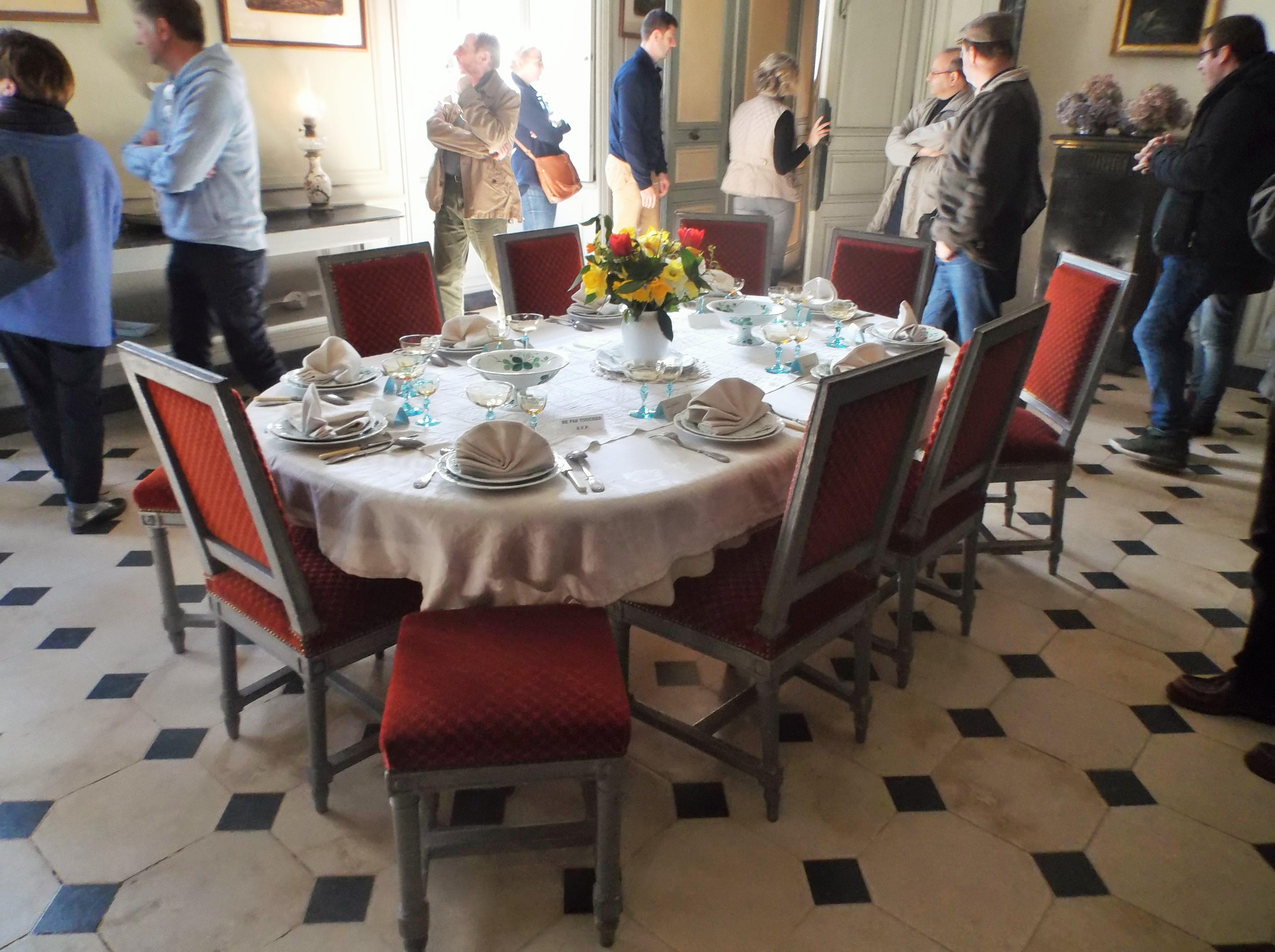 Maison De La Salle file:maison de george sand, salle à manger, la table