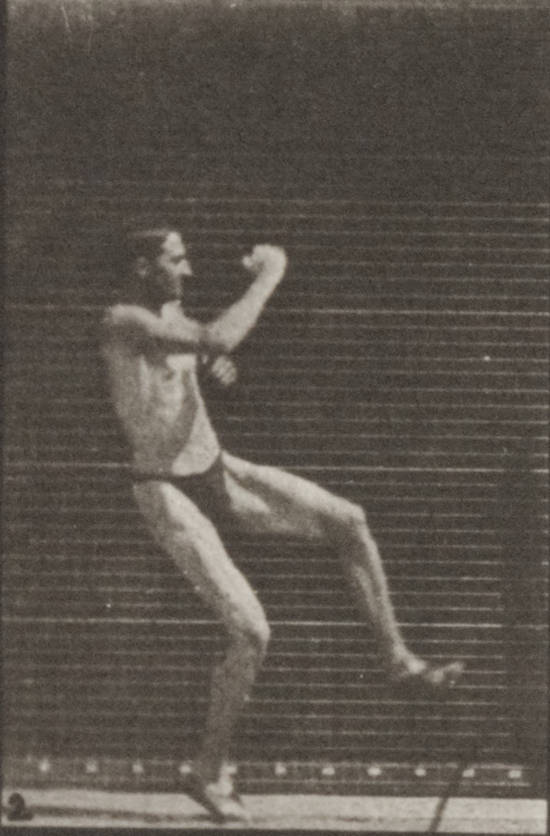 Man in pelvis cloth jumping horizontal bar (rbm-QP301M8-1887-157a~2)