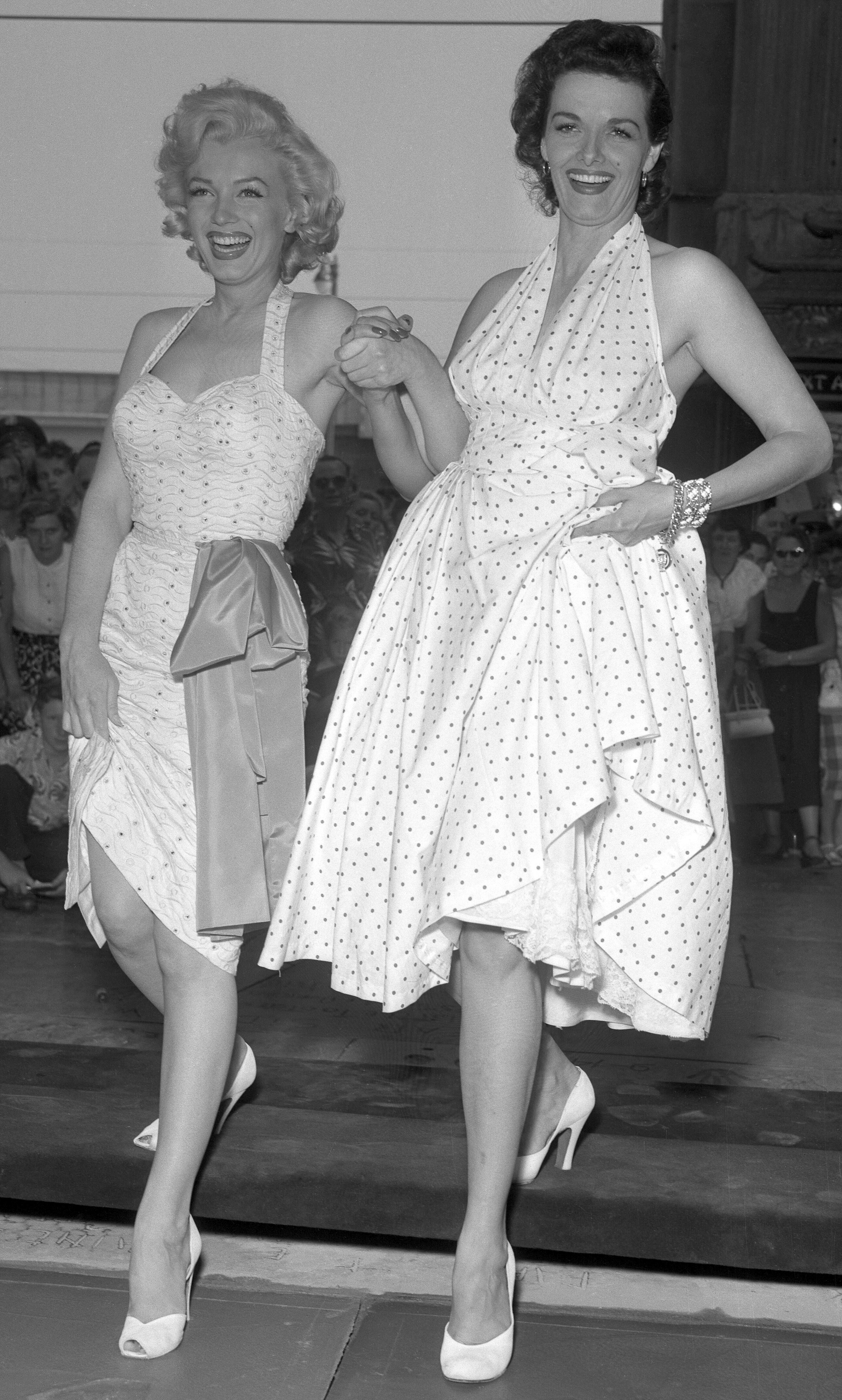 Marilyn Monroe w gorsecie