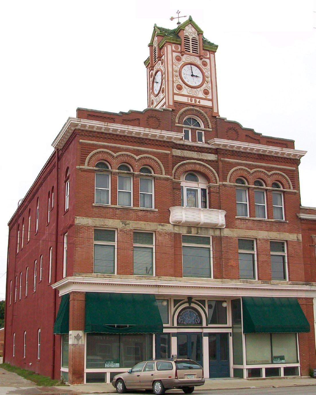 Masonic Temple Building Stuart Iowa Wikipedia