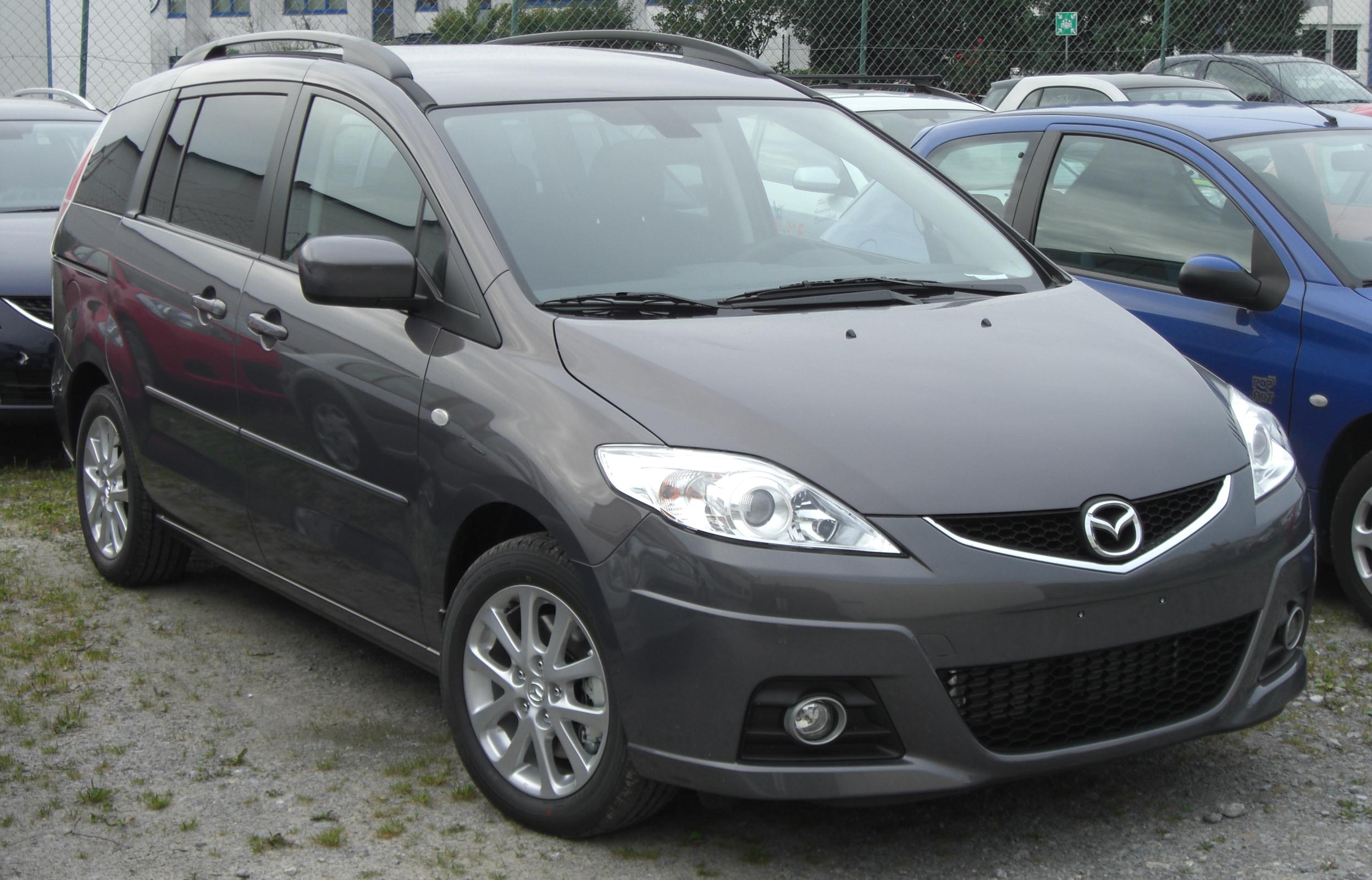 File Mazda 5 Facelift Front Jpg Wikimedia Commons