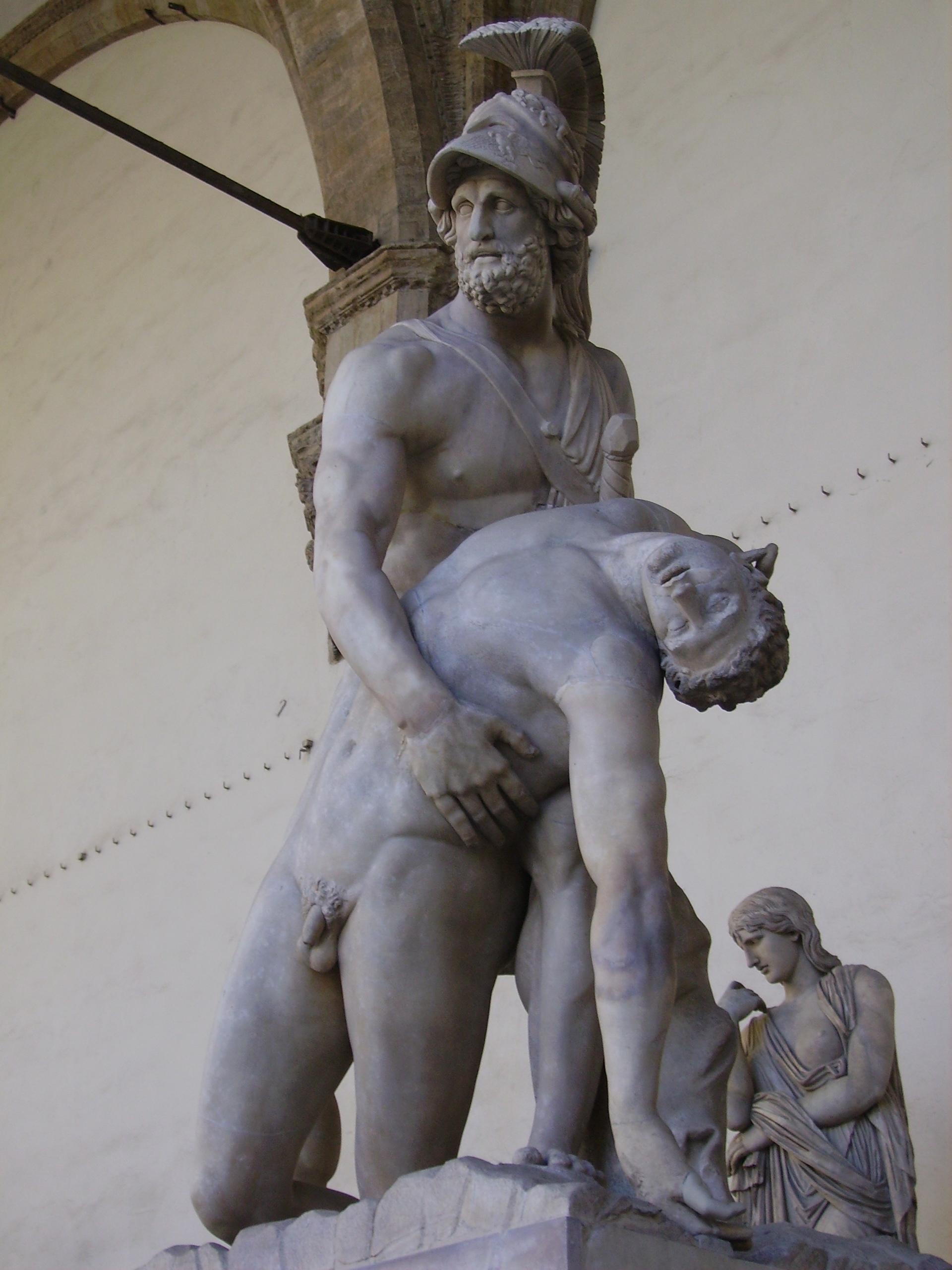 Patroclo e Menelao , 1599, Loggia dei Lanzi, Piazza della Signoria, Firenze