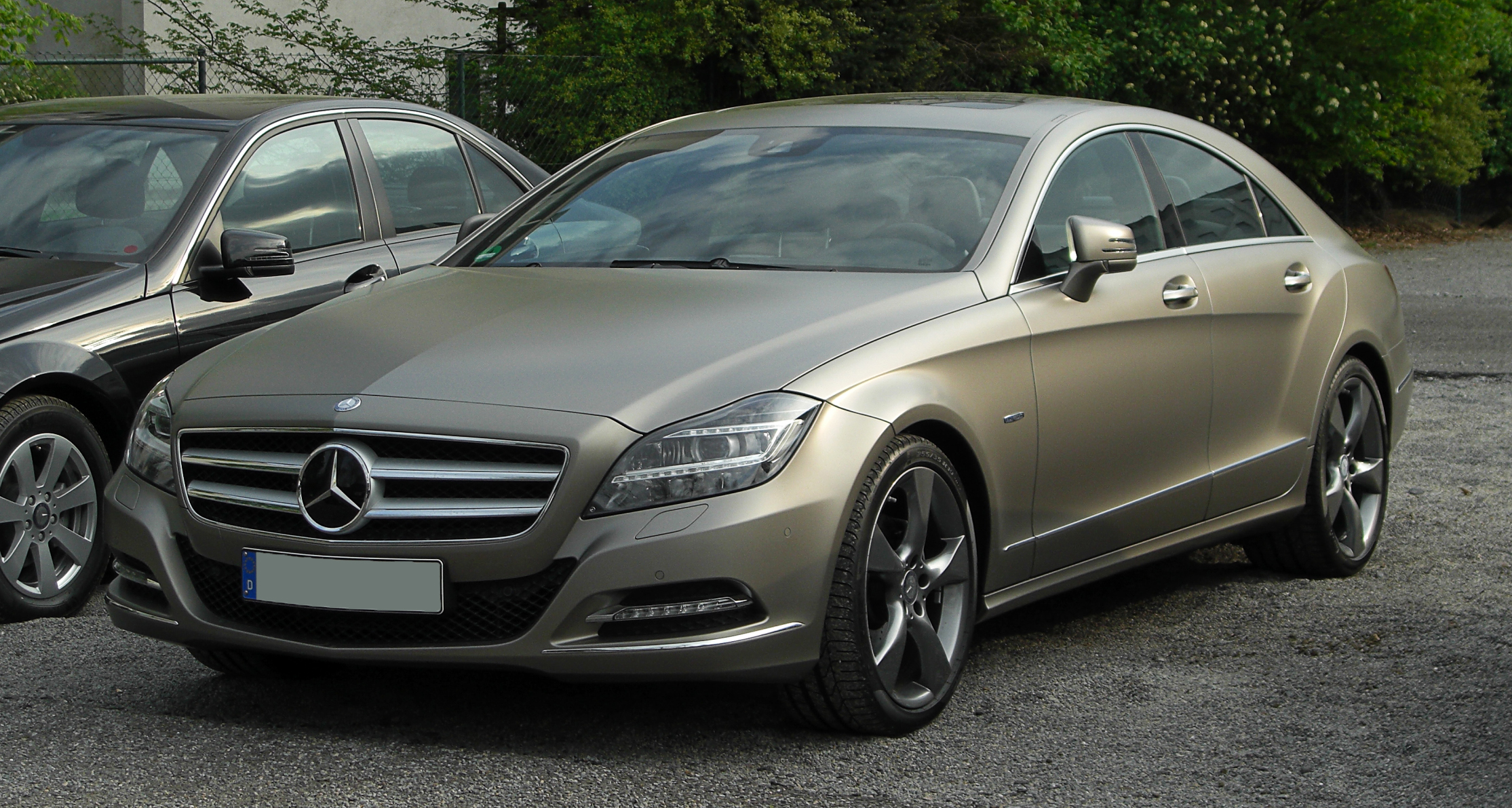 File Mercedes Benz Cls 350 Blueefficiency Edition 1 C 218 Frontansicht 2 16 April 2011