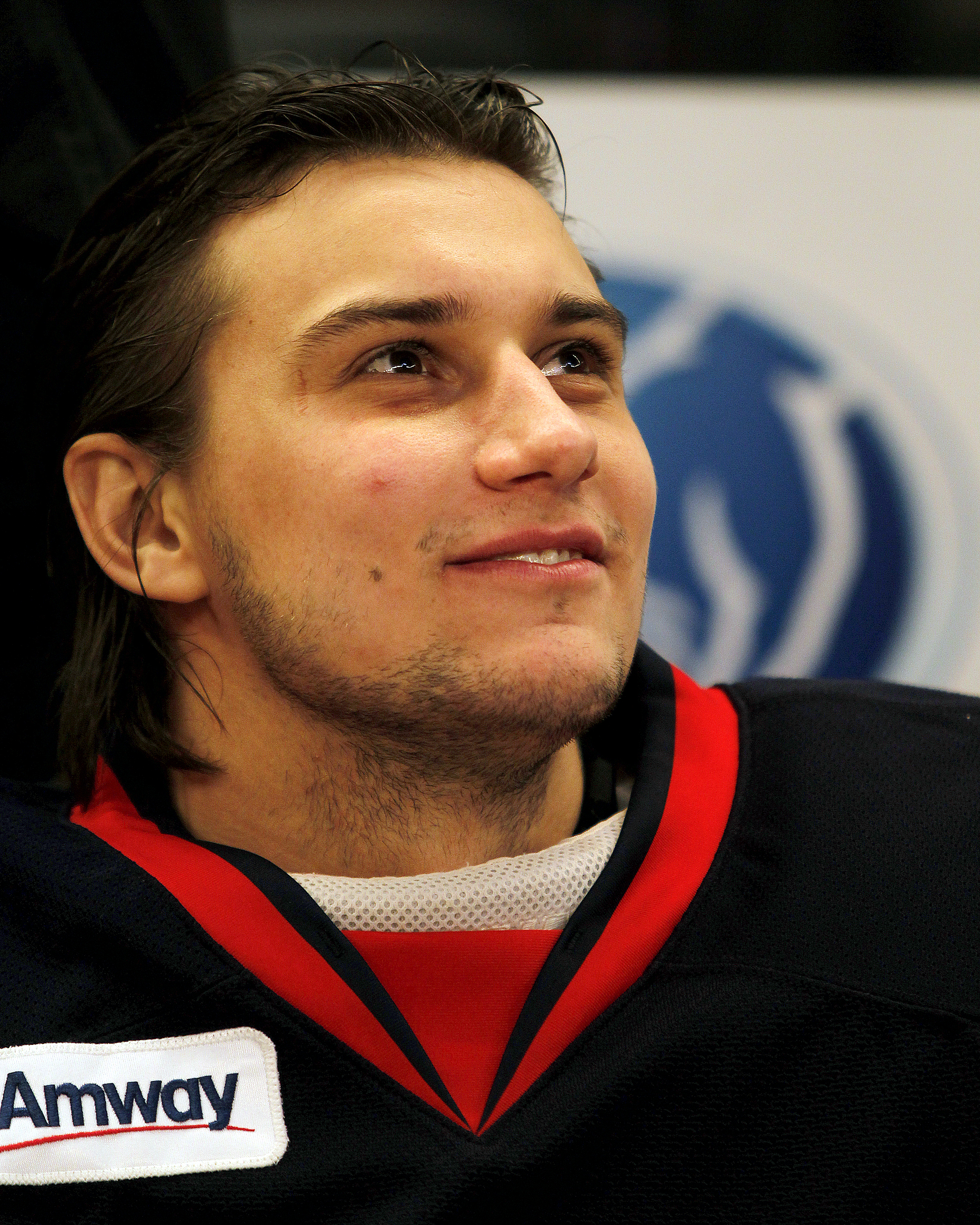 Mrázek with the Grand Rapids Griffins in January 2013