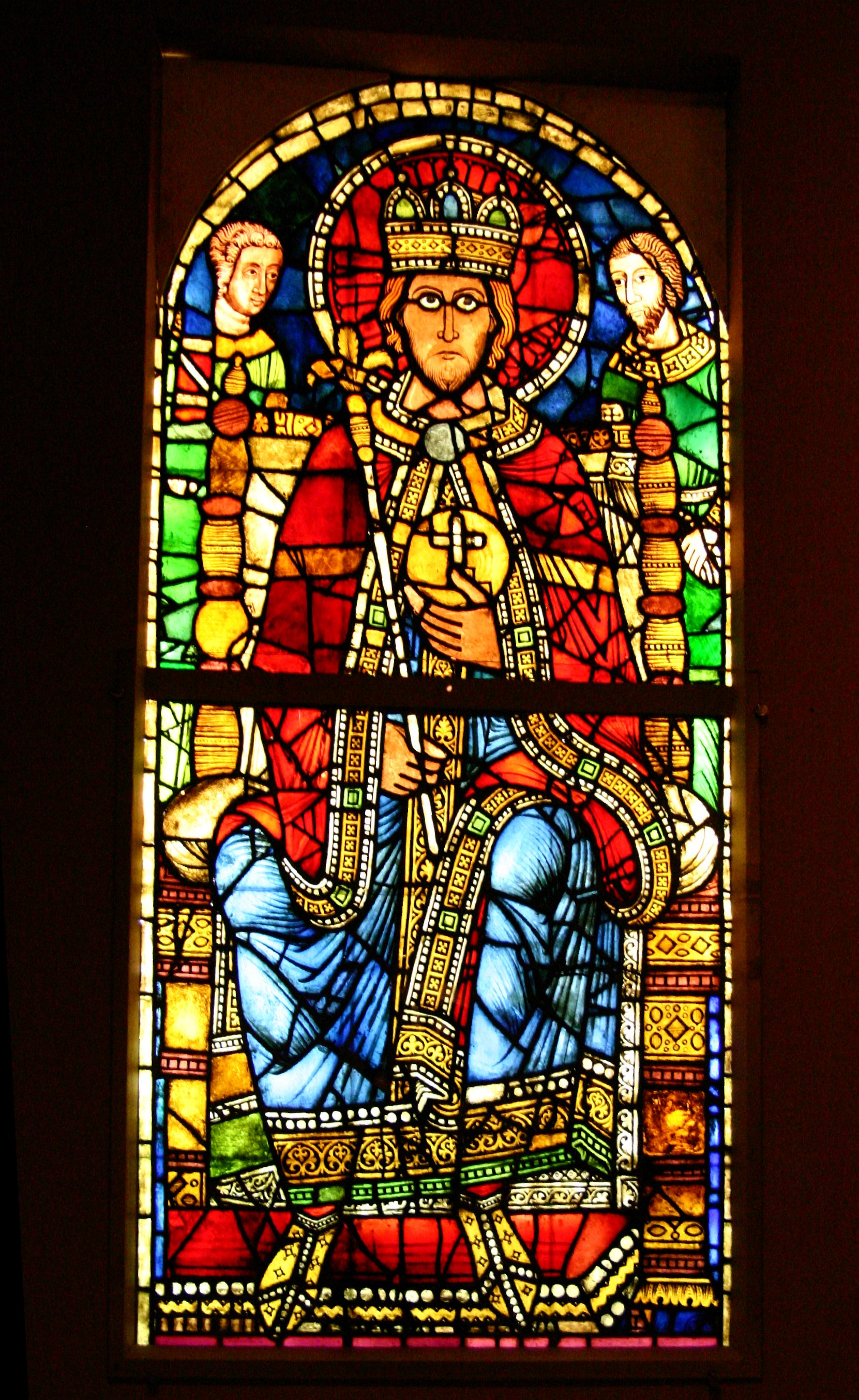 Kirchenfenster Malen
