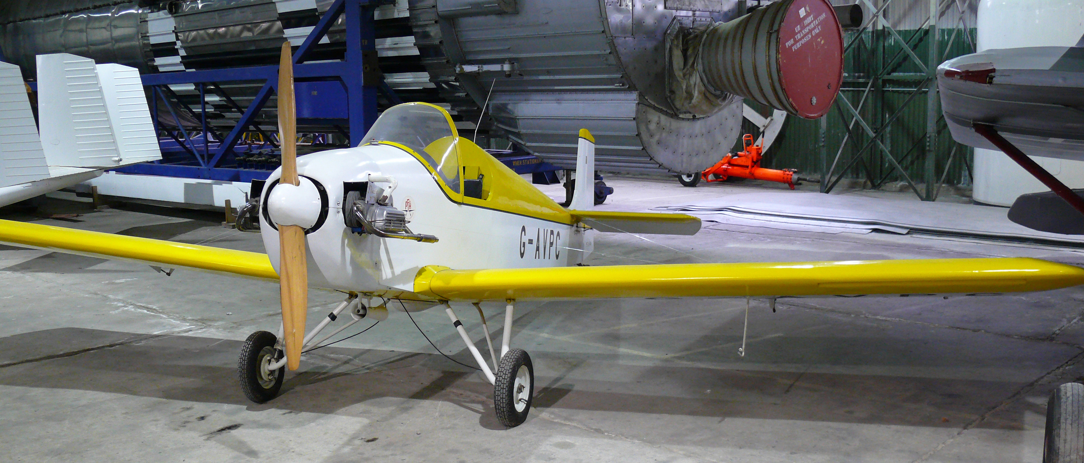 File museum of flight druine d31 turbulent 01 jpg wikimedia commons