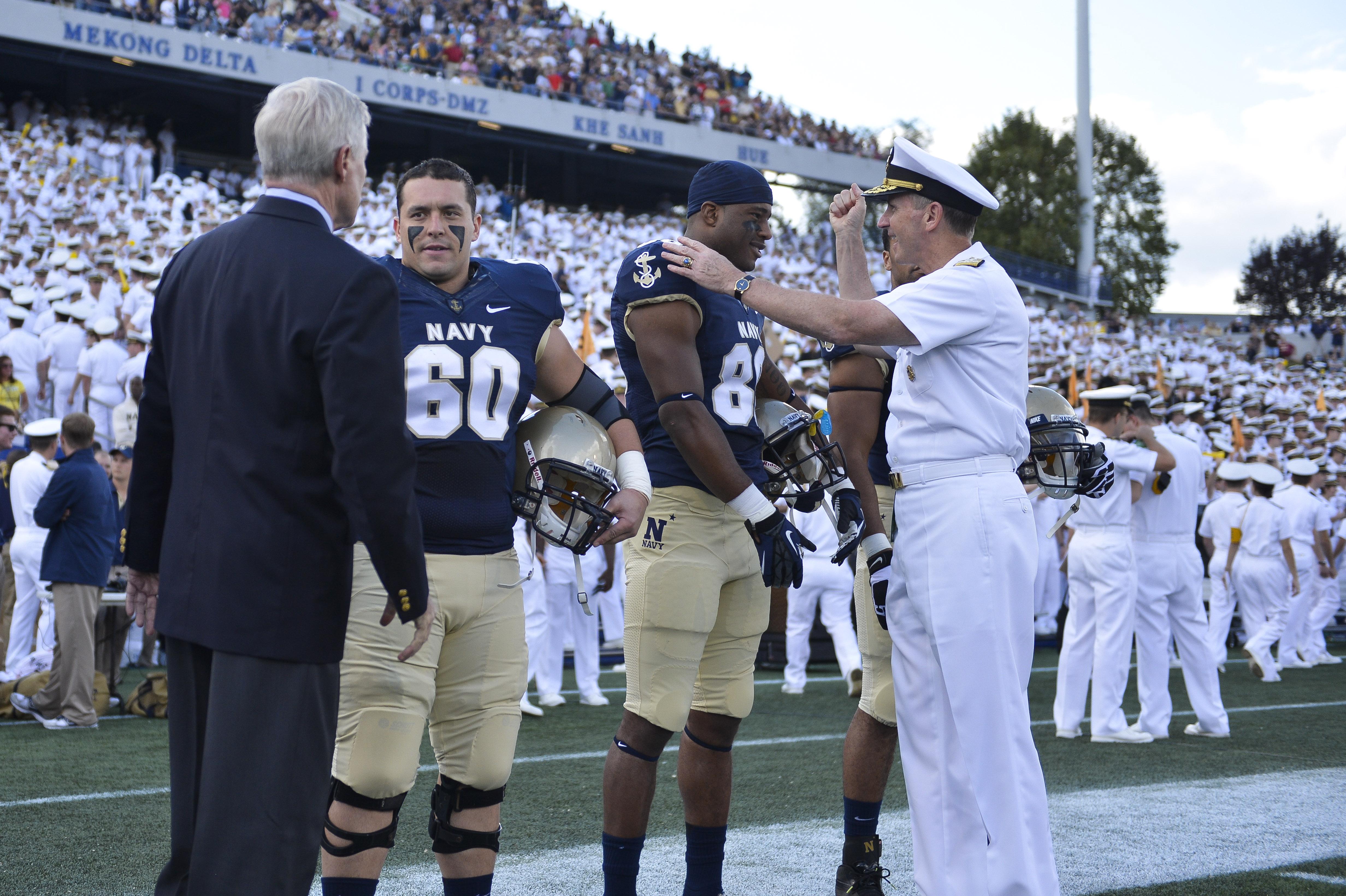 File Navy Midshipmen 2012 Football Team Captains Jpg Wikimedia Commons