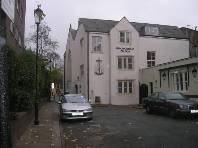 File:New Apostolic Church off Warwick Road, London W14 - geograph