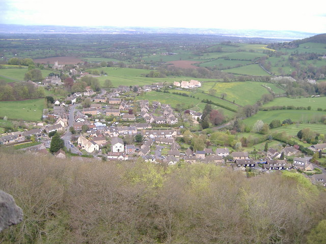 North Nibley from the top of Tyndale Monument - geograph.org.uk - 716103