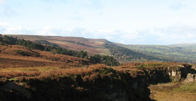 North side of Ilkley Moor - geograph.org.uk - 1020365