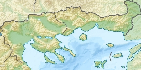 Fasciculus:Northeastern Greece relief location map.jpg