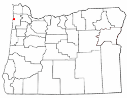 Loko di Bay City, Oregon
