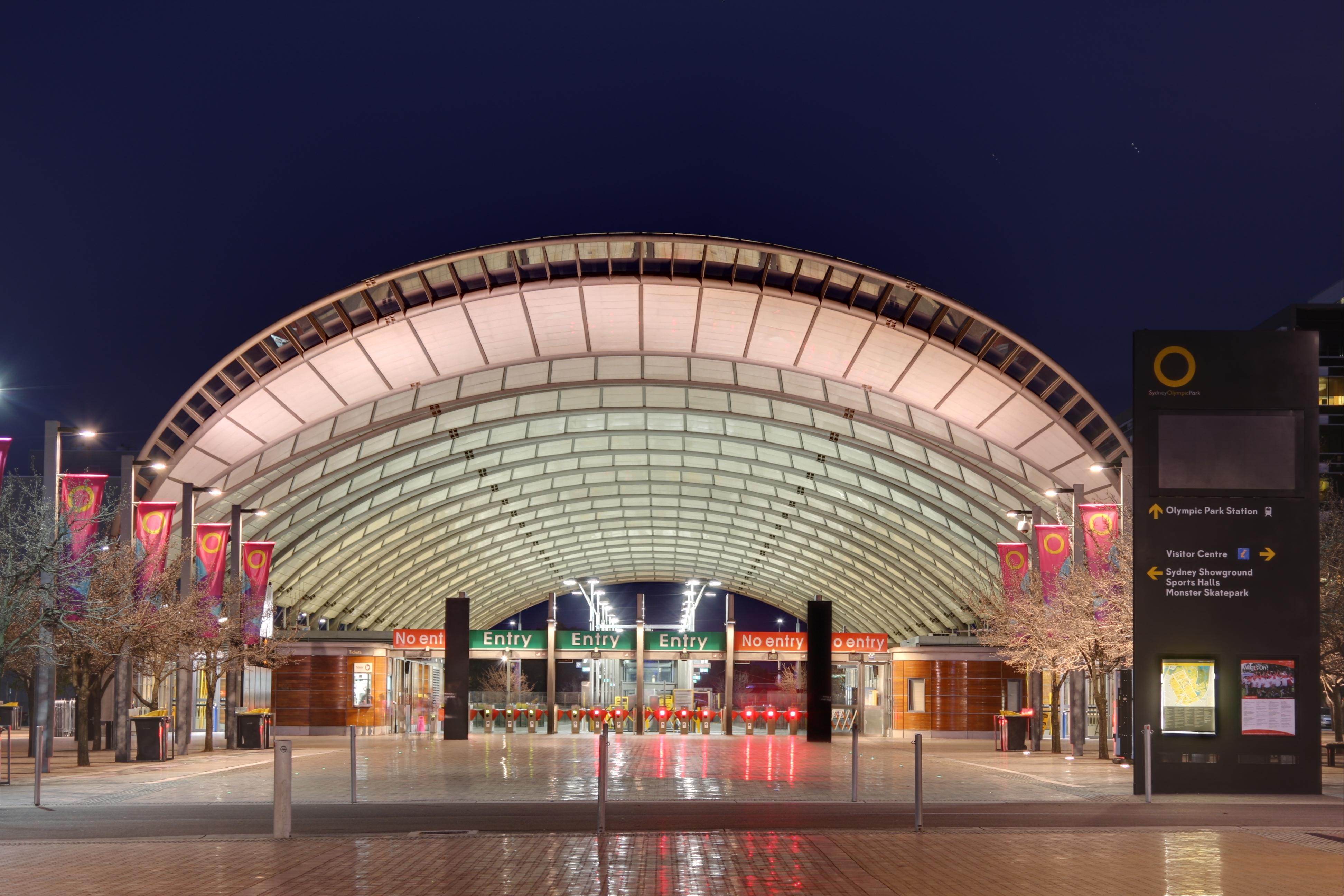 FileOlympic Park Train Station Syd