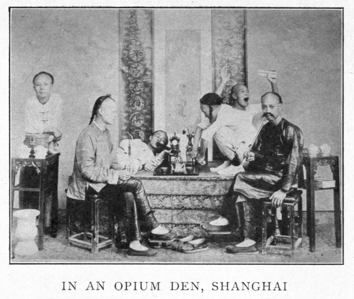 History of opium in China