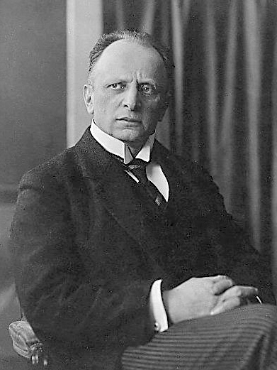 Wikipedia.de. Portrett, Otto Brahm i 1905