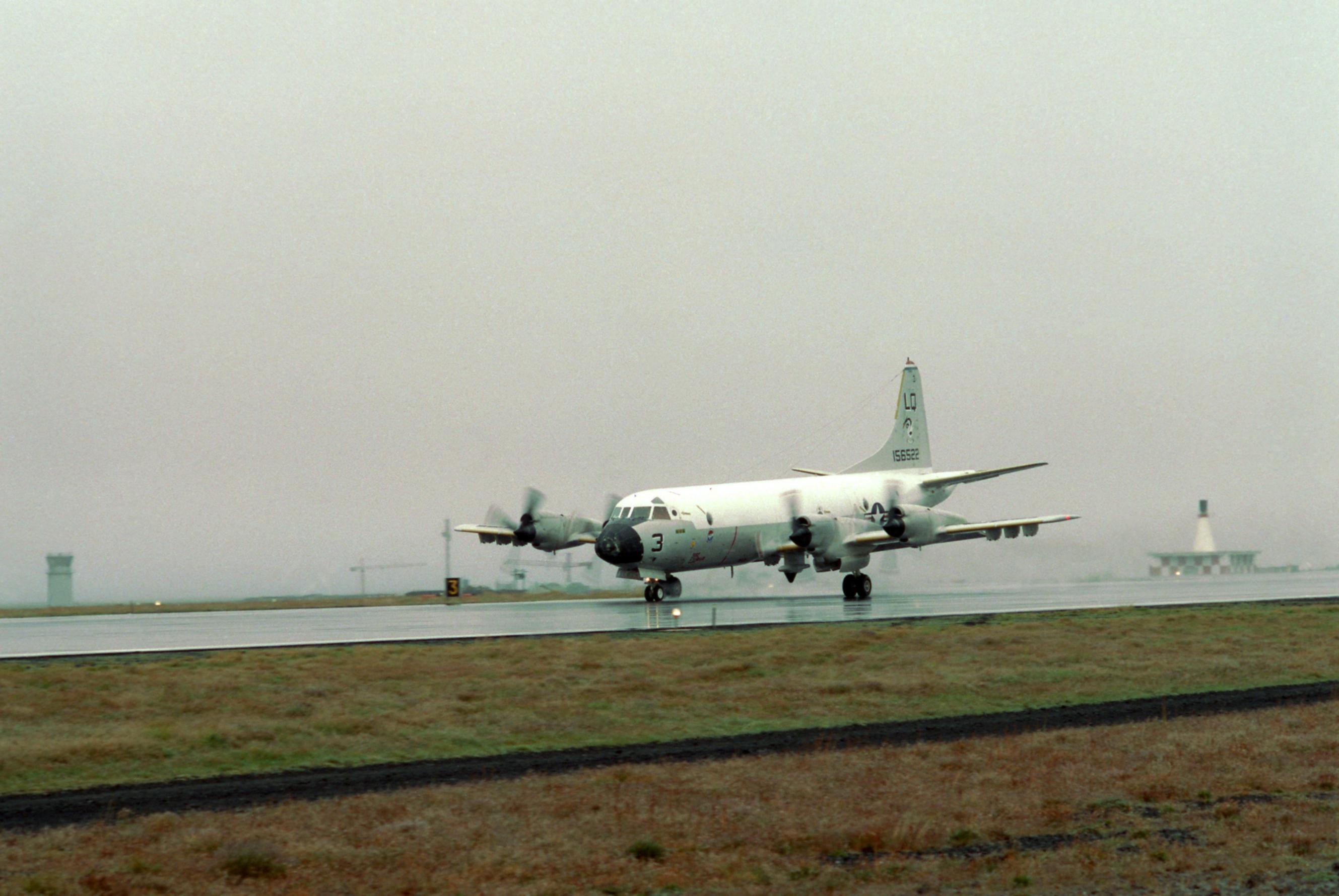 naval air station keflavik a u s navy p 3c orion of patrol squadron 56 vp 56 at keflavik 1977