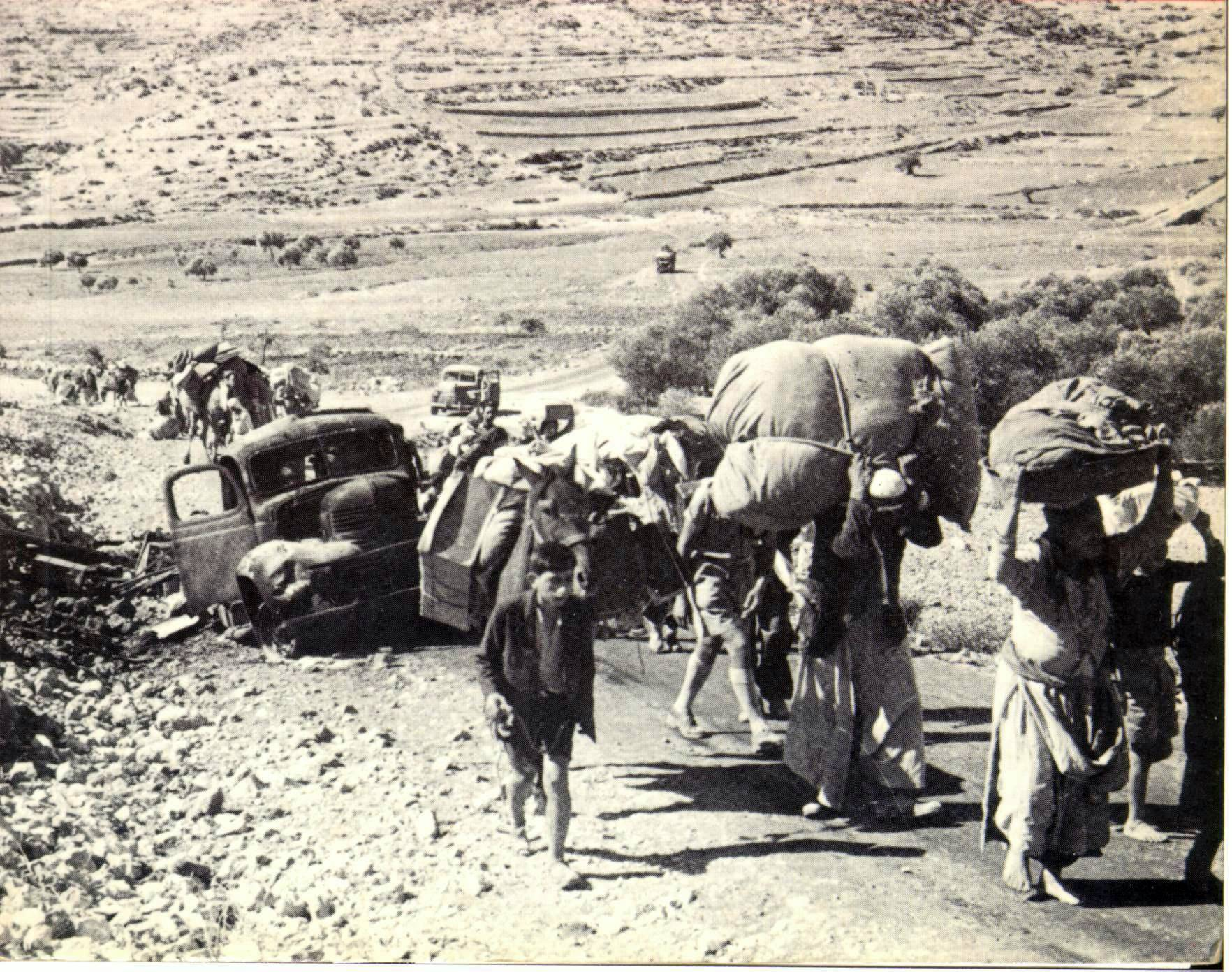 The Palestinian Refugees: History & Overview