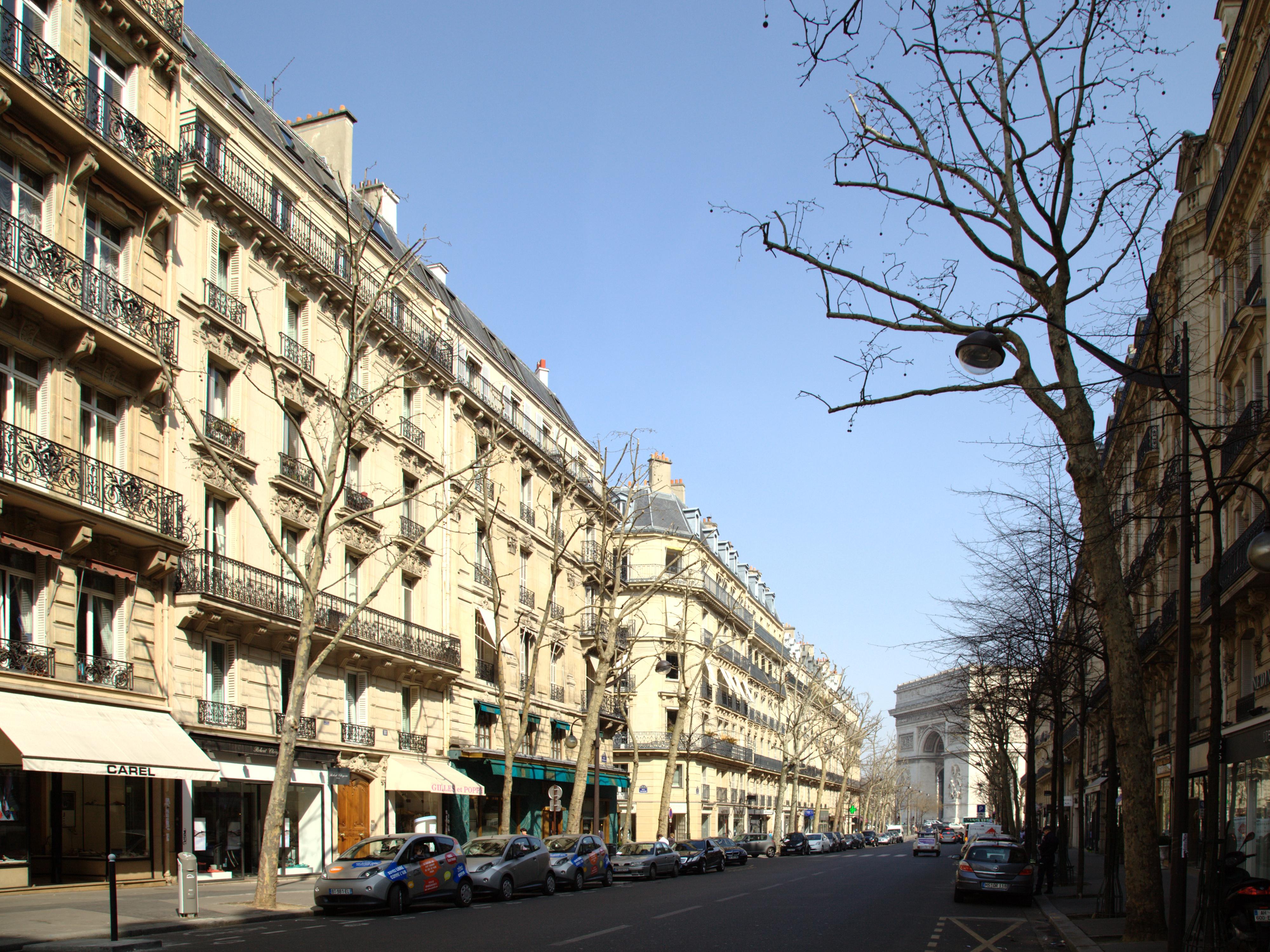 File paris avenue victor wikimedia commons - Boutique avenue victor hugo ...