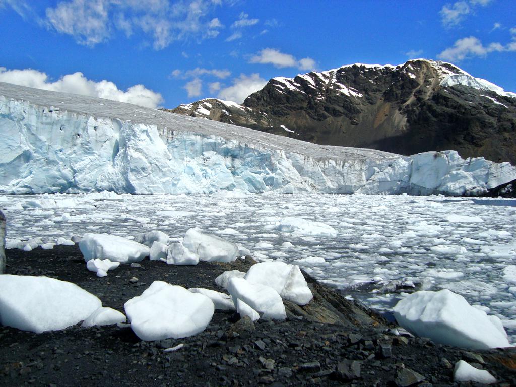 Glaciar Pastoruri - Wikipedia, la enciclopedia libre