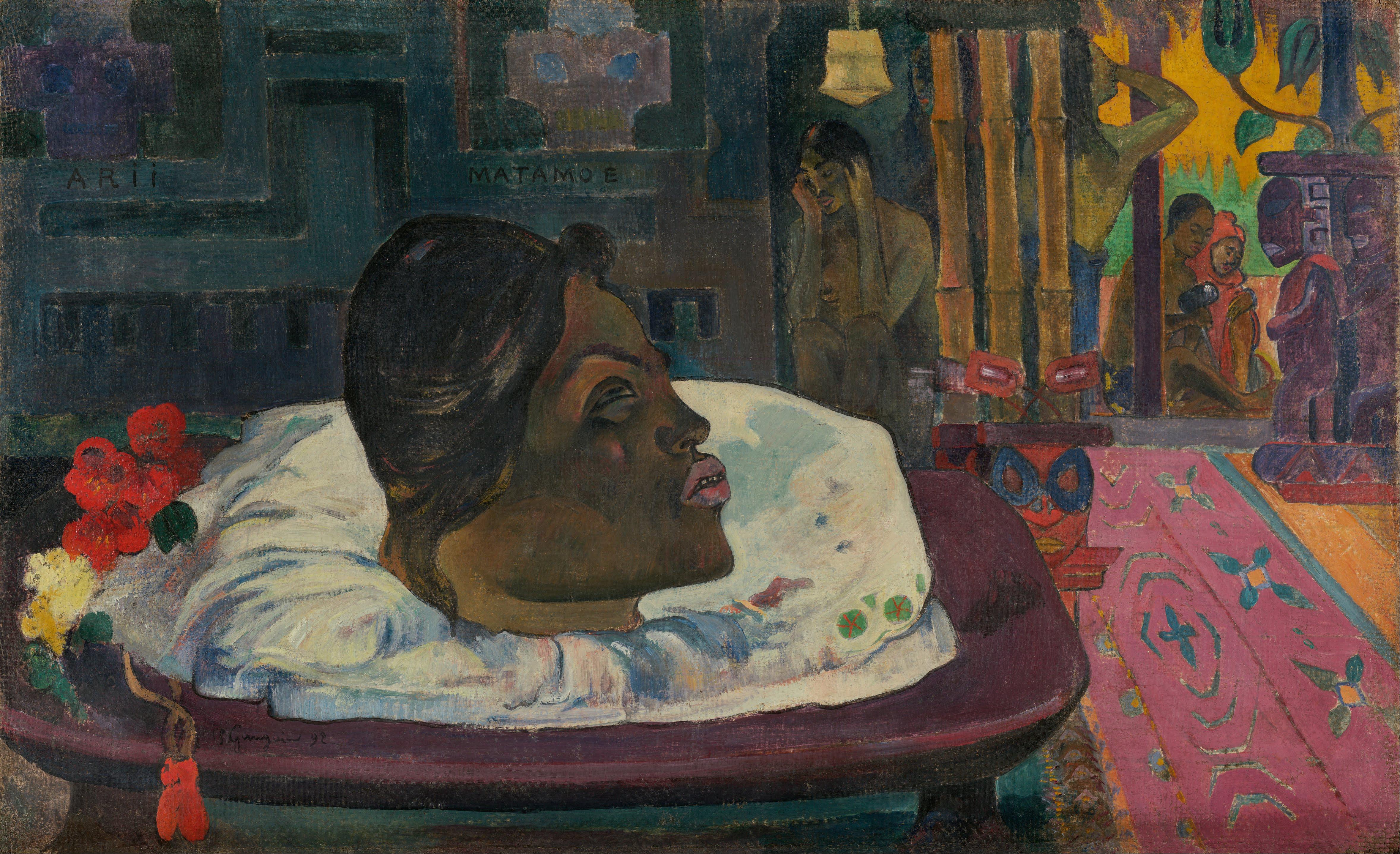https://upload.wikimedia.org/wikipedia/commons/c/cd/Paul_Gauguin_%28French_-_Arii_Matamoe_%28The_Royal_End%29_-_Google_Art_Project.jpg