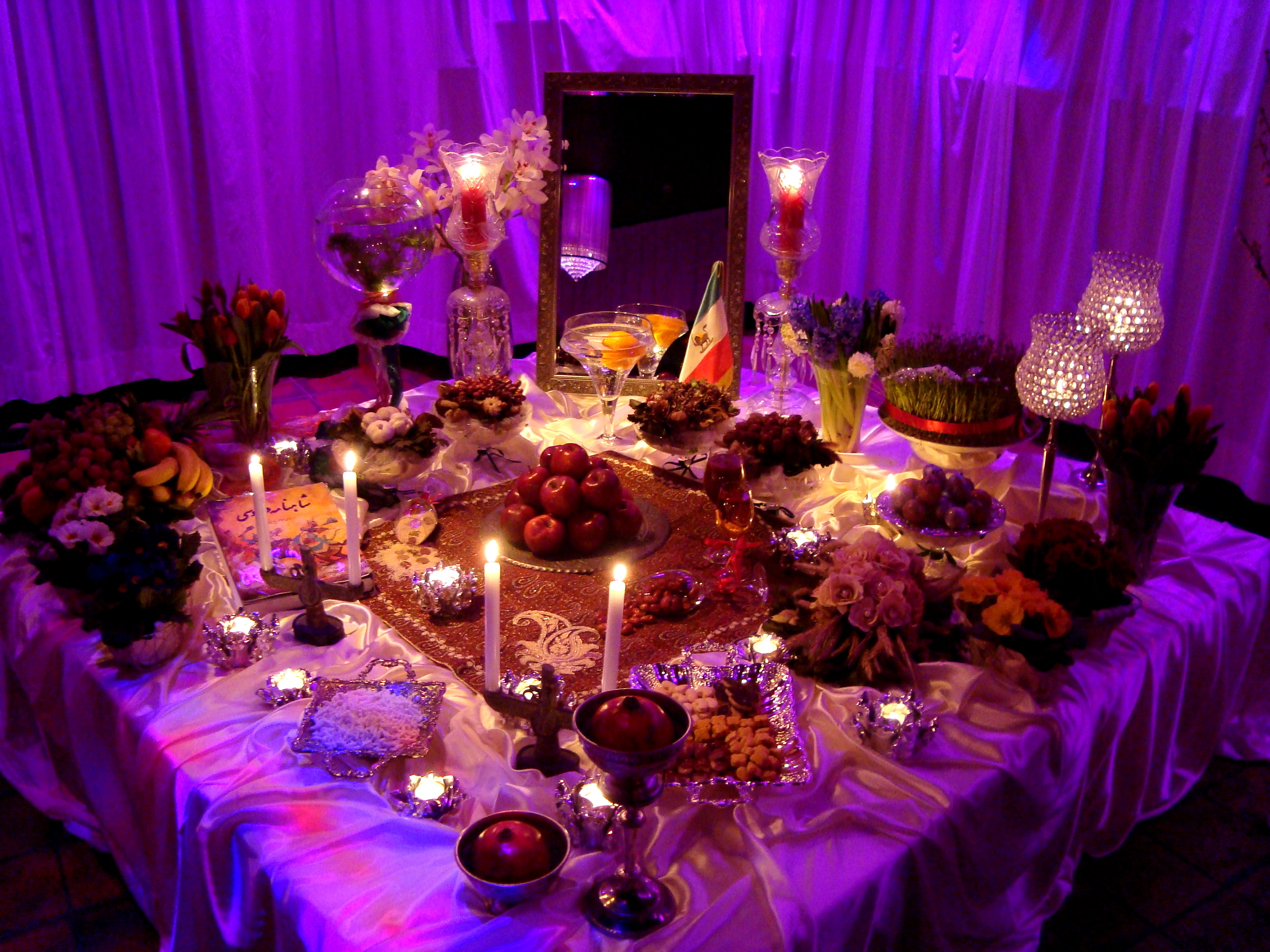 Nowruz Table Decoration
