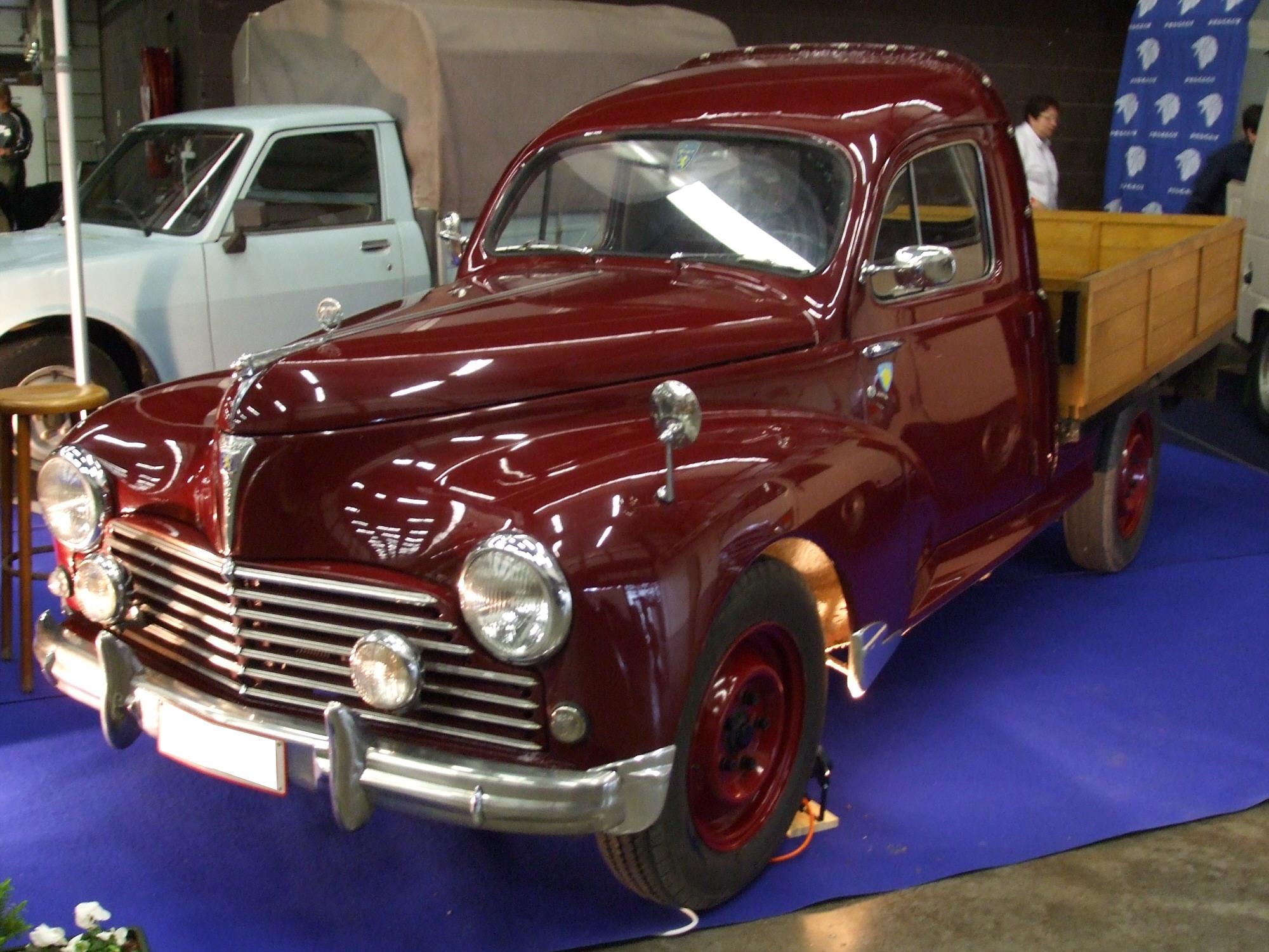 File Peugeot 203 Pickup Vl Jpg Wikimedia Commons