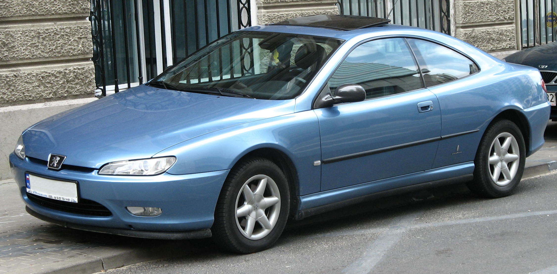 File Peugeot 406 Coupe Jpg Wikimedia Commons