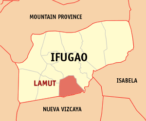 Mapa na Ifugao ya nanengneng so location na Lamut