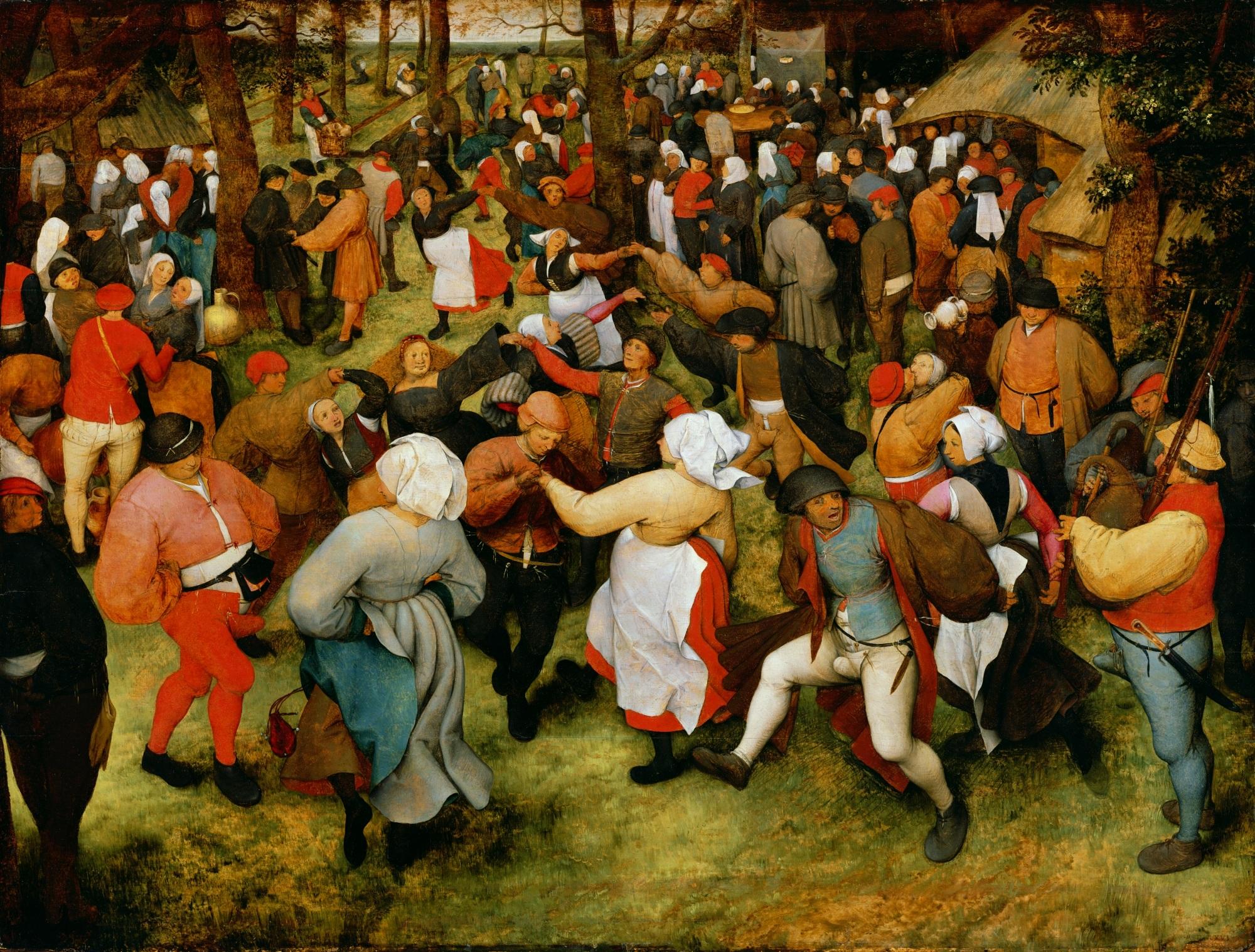 The Wedding Dance Pieter Bruegel The Elder Biblioklept