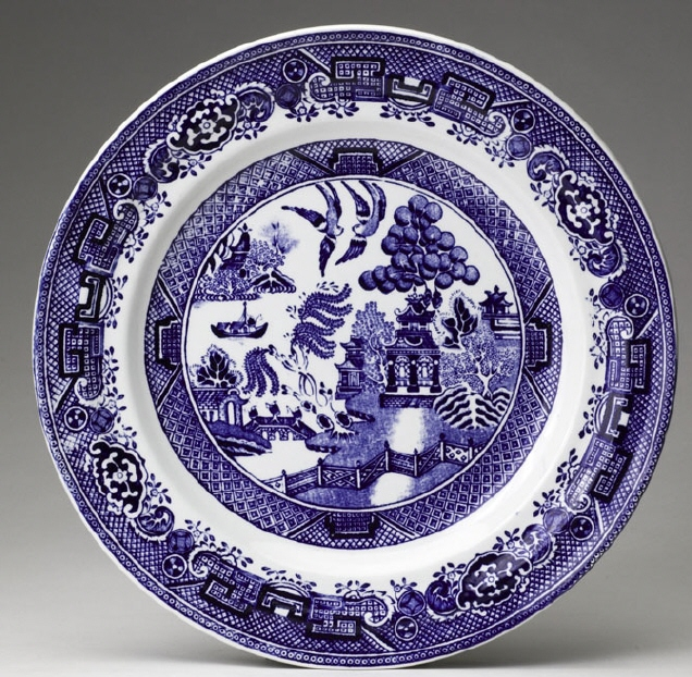 The Willow Pattern Plate Catalog Of Patterns