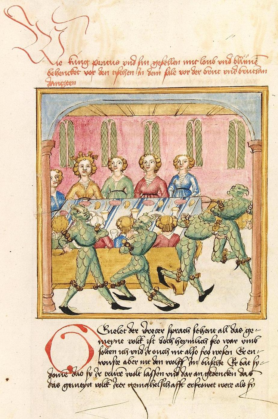 Depiction of Pontus y Sidonia