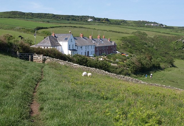 Prawle Point Cottages - geograph.org.uk - 845265