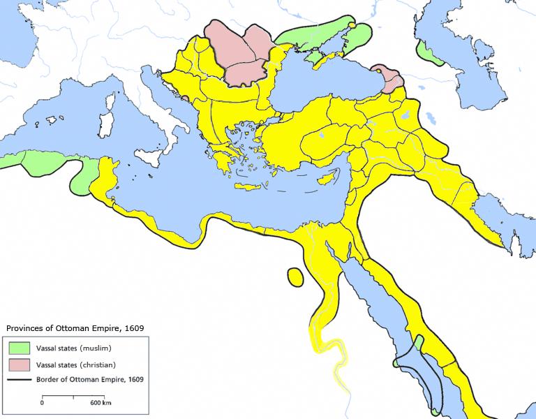Provinces De L Empire Ottoman Wikipedia
