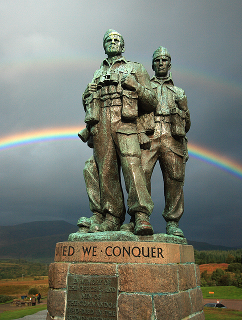 File:Rainbow Warriors - Commando Memorial, Spean Bridge ...